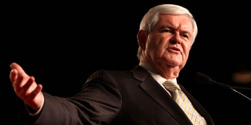 More on Newt Gingrich's Academic Career