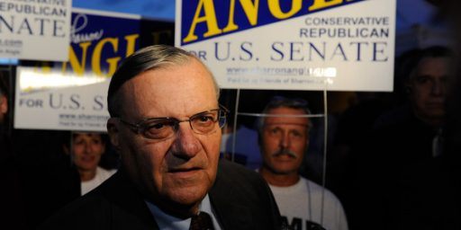Arizona Sheriff Joe Arpaio Accused Of Unfairly Targeting Hispanics
