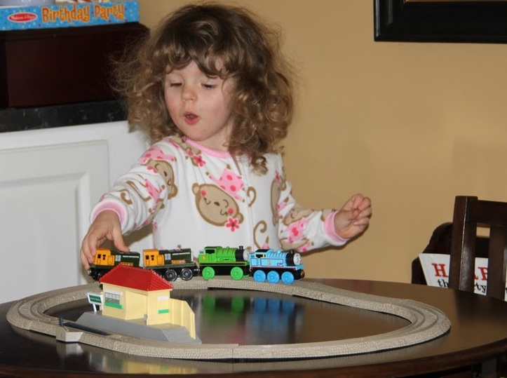 Katie-Turns-3-Thomas-Train