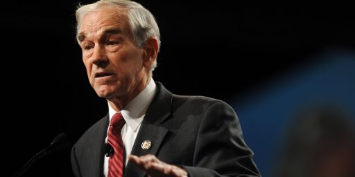 Ron Paul Doesn't Want To Talk About His Newsletters Anymore