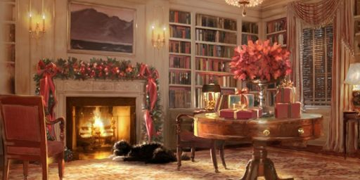 Fox News & Sarah Palin Attack The White House Christmas Card