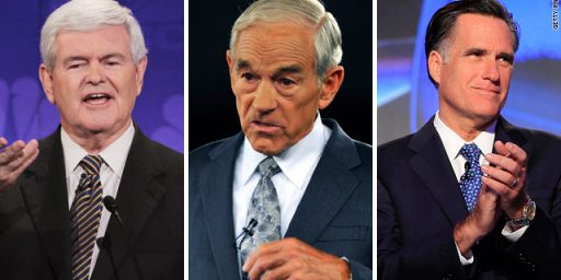 Ron Paul First, Romney Second, Newt Gingrich Slips To Third In New Iowa Poll