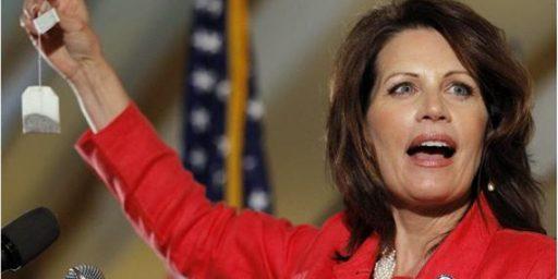 Michele Bachmann In Trouble In Her Re-Election Bid?