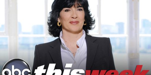 Further Reports Indicate Christiane Amanpour Is Out At 'This Week' (Update: Stephanopoulos To Return)