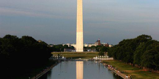 Washington Monument Shorter Than Previously Thought