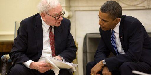 """Warren Buffett's Taxes Probably Won't Increase Under The """"Buffett Rule"""""""