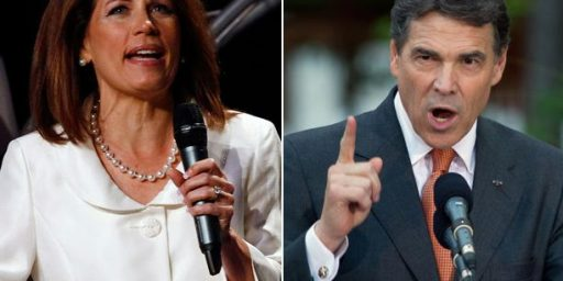 Michele Bachmann Out, Rick Perry Staying In