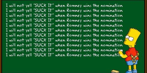 Conservatives Finally Accepting Romney's Inevitablity?
