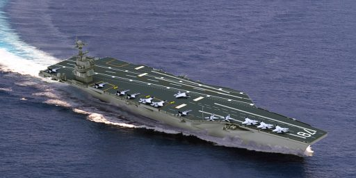 Cost Overruns On USS Gerald Ford Could Top $1 Billion