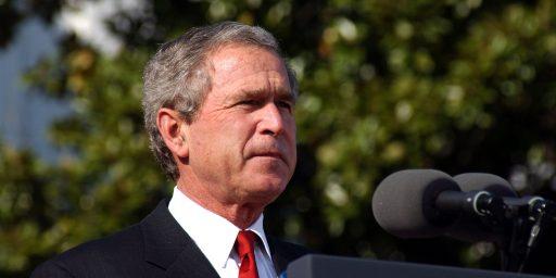 George W. Bush Skipping Republican Convention