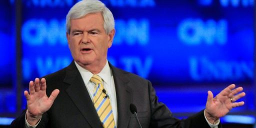 Gingrich Out Within A Week?