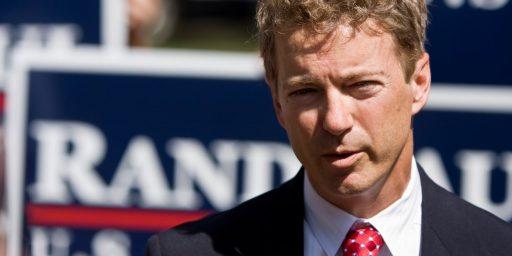 Senator Rand Paul Reportedly Detained By TSA