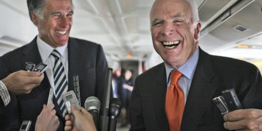 McCain To Endorse Romney At New Hampshire Event