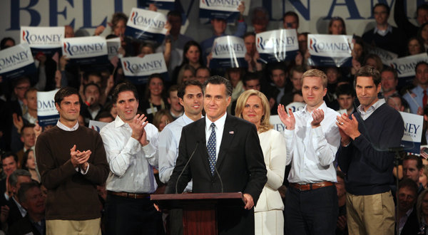 Romney Victory New Hampshire