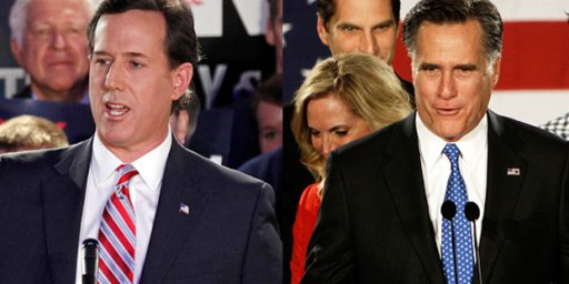 Romney Voters Would Support Obama If Santorum Is the Nominee?