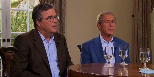 George Bush Wanted Jeb Bush To Run For President In 2012