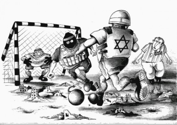 israel-palestine-soccer-cartoon