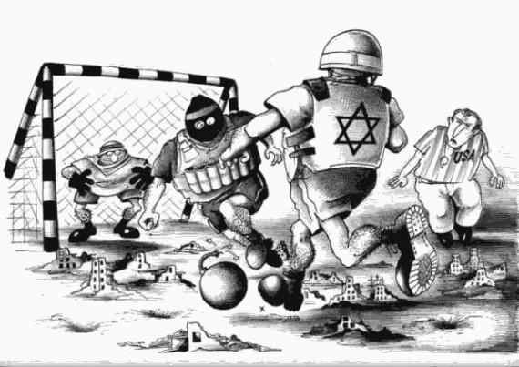 israel-palestine-soccer-cartoon