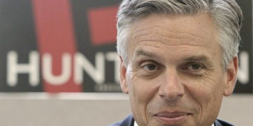 Obama Campaign Saw Jon Huntsman As A Threat