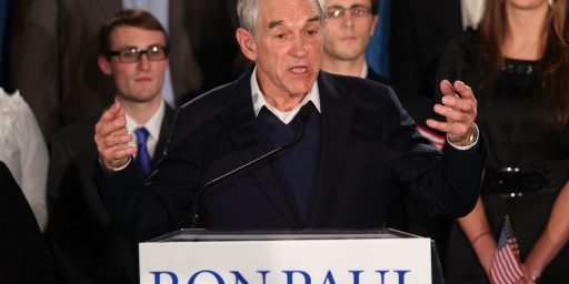 "Ron Paul Tells His Supporters ""It's Over"""