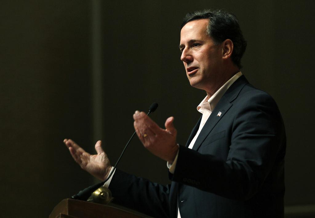 Rick Santorum Pulpit