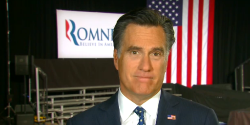 Romney On CNN: `I'm Not Concerned About The Very Poor'