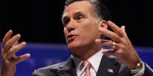 Romney Wins CPAC Straw Poll (Again)