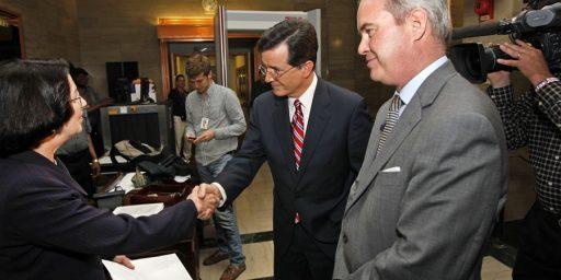 Stephen Colbert's Super PAC Joke's On Him