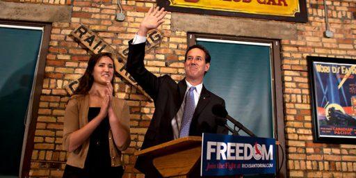 Santorum Scores Meaningless Win In Louisiana