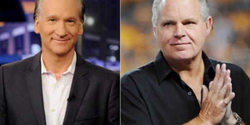 Bill Maher, Rush Limbaugh, and the Standards of Discourse