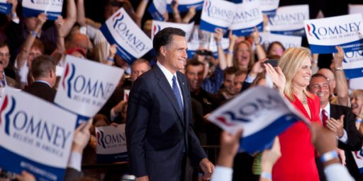 Romney Wins Big In Illinois, And This Race Is (Almost) Over
