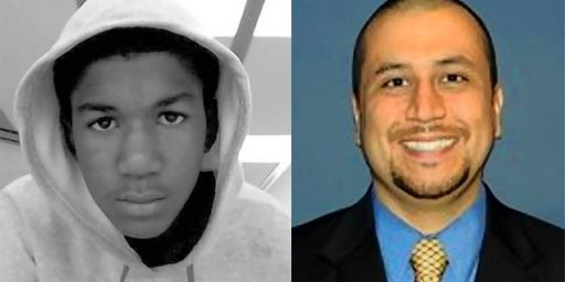 George Zimmerman Charged With Second Degree Murder In Trayvon Martin Shooting