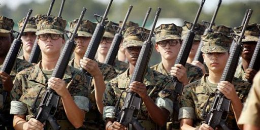 Pentagon Opens All Combat Roles to Women