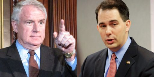 Scott Walker Leads In Wisconsin Recall Poll