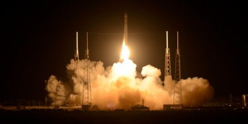 SpaceX Launches First Private Cargo Mission To International Space Station