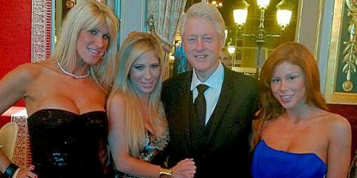 The Day Bill Clinton Met The Porn Stars