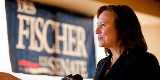 Deb Fischer Scores Upset Win in Nebraska GOP Senate Primary