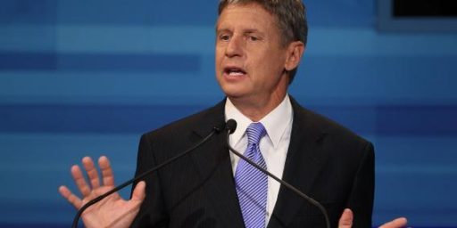 Gary Johnson To Head Marijuana Company