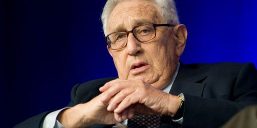 Henry Kissinger's Annoying Habit of Being Right