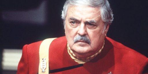 Ashes Of James Doohan, 'Scotty' From Star Trek, Sent Into Orbit
