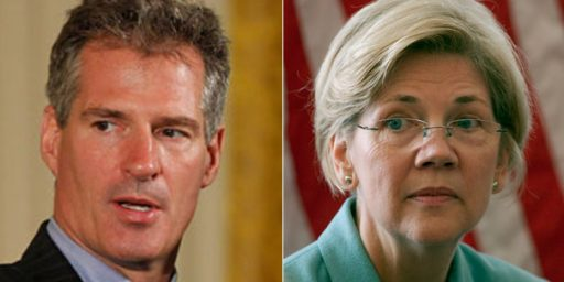 Scott Brown Continues To Hang On In Massachusetts