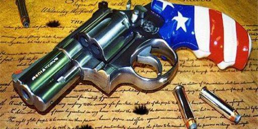 Guns and Preventing Tyranny
