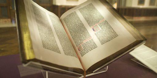 Gutenberg Didn't Invent The Printing Press