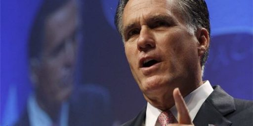 Republican Foreign Policy Establishment Worried About Romney?