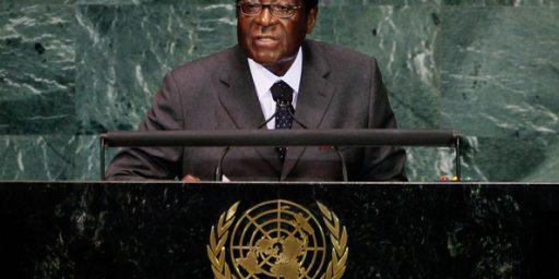 Robert Mugabe Not UN Tourism Ambassador, A Position That Doesn't Exist
