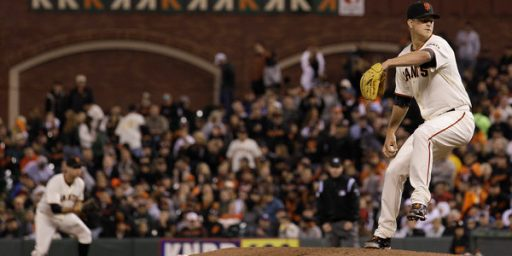 Matt Cain Pitches First Perfect Game In Giants History