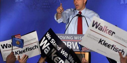 Poll Shows Scott Walker In A Tight Race In Wisconsin
