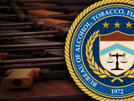 ATF Logo With Guns