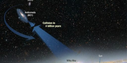 Alert: Milky Way To Collide With Andromeda Galaxy...... In 4 Billion Years
