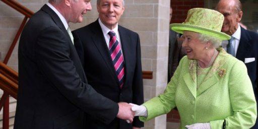 Queen Elizabeth Meets Former IRA Commander